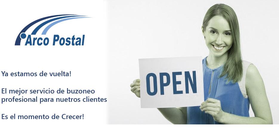 Arco Postal comienza su actividad en el Buzoneo y Reparto de Publicidad en todas sus instalaciones.